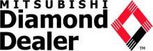 mitsubishi diamond dealer logo