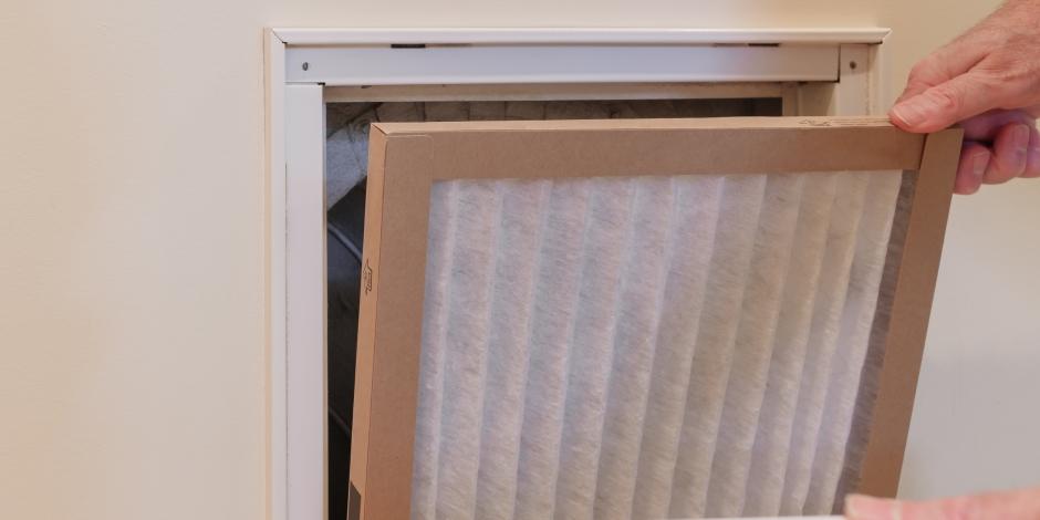 replacing home hvac air filter