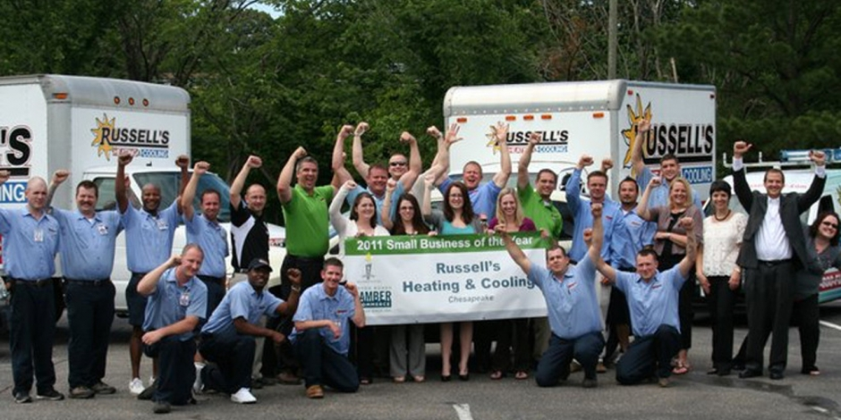 Russell's HVAC, Awards and News, VA