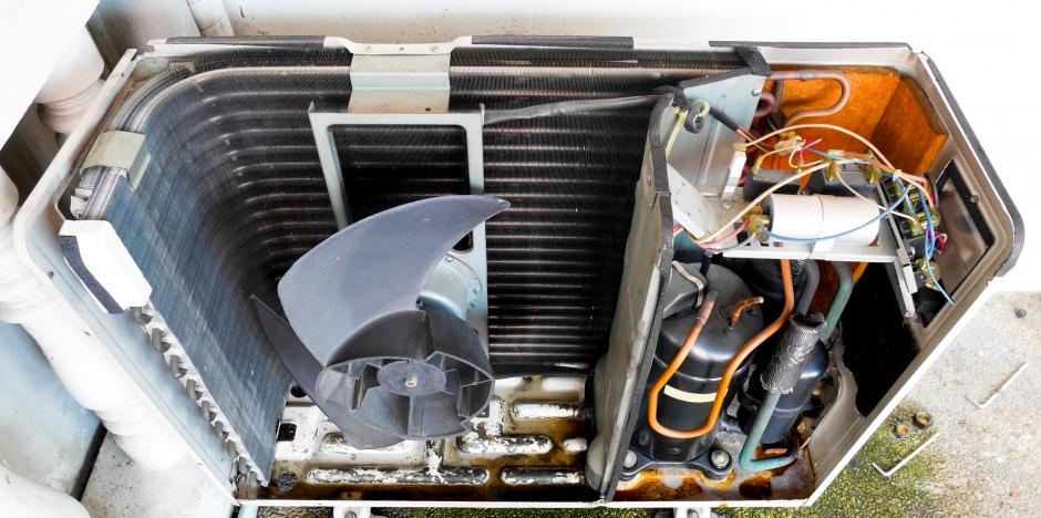 Russell's HVAC, Air conditioner compressor, VA